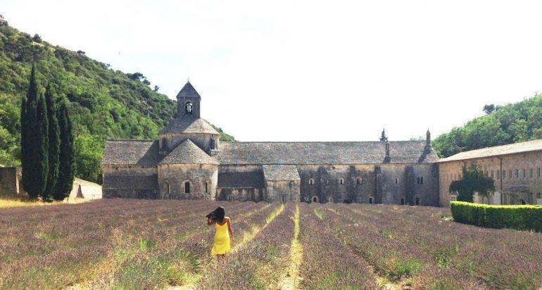 Abbaye Note-Dame de Senanque Manastırı