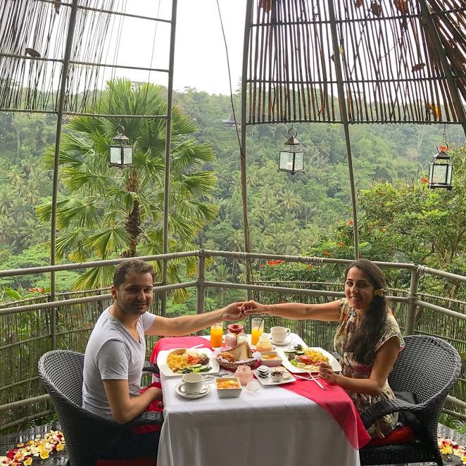 Kupu Kupu Barong Resort/ Romantic Breakfast