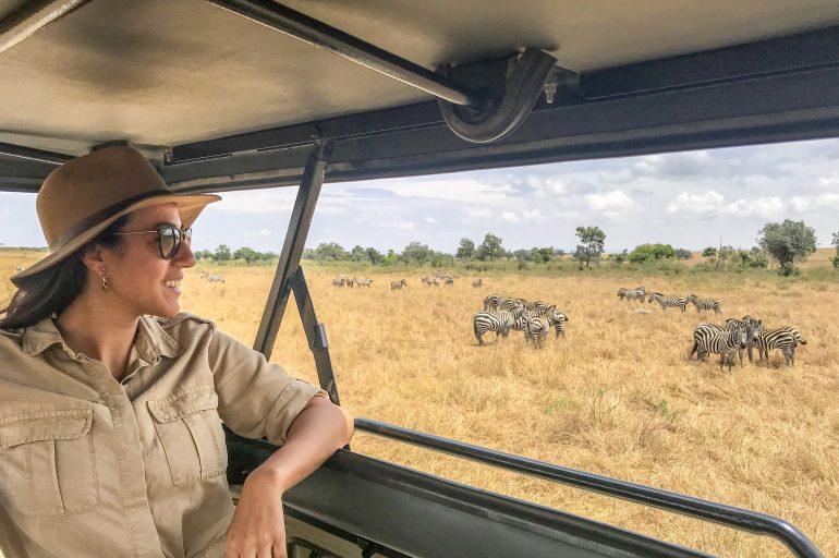 Kenya Masai Mara'da Safari Rehberi